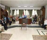 محافظ جنوب سيناء يتابع موقف تنفيذ مشروعات الخطة الاستثماريه