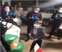 فيديو| لافتة إنسانية من سيارات المتحدة تجاه ابن شهيد القوات المسلحة
