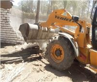 إزالة 60 حالة تعد على الأراضي الزراعية وأملاك الدولة في قنا