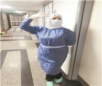 «واجبى أهم»..«أسماء» ممرضة تشارك فى علاج مصابي كورونا رغم مخاوف والدتها