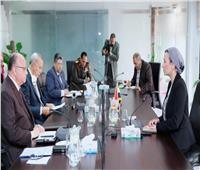 مناقشة وضع مدفن العبور في اجتماع  لوزيرة البيئة ومحافظي القاهرة والقليوبية