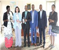 المفوضيةالبوروندية لحقوق الإنسان تشكر مصرعلي دعمها