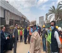 أول تعليق من «المقاولون العرب» على ملاحظات الرئيس السيسي بشأن ارتداء عمال الشركة للكمامات
