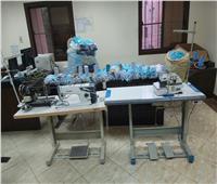 ضبط 3 سيدات لإدارتهن مصنع كمامات غير صحية بأسيوط
