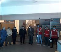 صور  نائب محافظ قنا يتابع أعمال تعقيم وتطهير المنشآت العامة
