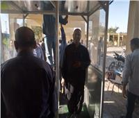صور وفيديو| تصنيع أول بوابات تعقيم للعمال في مصر بأيادي محلية