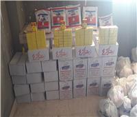 مستقبل وطن يوزع 300 شنطة غذائية على الأسر المتضررة من كورونا بنصر النوبة