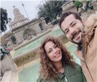 في عيد ميلادها.. فنانة وراء انتشار شائعة طلاق داليا مصطفى من شريف سلامة