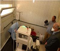 مستشفى الطلبة بجامعة أسيوط تخصص عزل إضافى