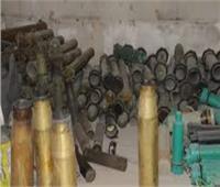 الحشد الشعبي العراقي يعثر على مواد متفجرة وقنابل هاون في ديالى