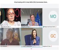 اجتماع «إفريقي - أوروبي» لبحث استخدام التقنيات الرقمية لمواجهة تداعيات كورونا