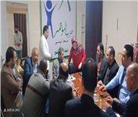 صور| حزب المؤتمر يبحث تدعيم جيش مصر الأبيض مع أمناء المحافظات