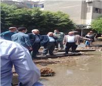 قطع مياه الشرب عن شبرا مصر بسبب كسر مفاجيء
