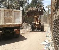 رفع 215 طن مخلفات وقمامة بـ3 مراكز في أسيوط