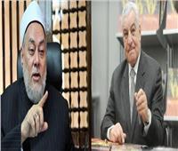 زاهي حواس يعتذر على الهواء للدكتور علي جمعة: صديق عظيم 