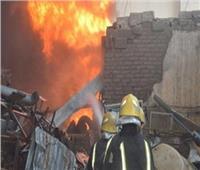 الحماية المدنية تسيطرعلى حريق بمدينة زفتي