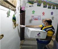 توزيع حقائب حماية للوقاية من كورونا على دور الأيتام والمسنين بثلاث محافظات
