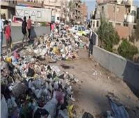 القمامة تتراكم في شوارع طنطا.. ومواطنون: الأمراض تحاصرنا