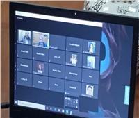 جامعة بنها تعقد سلسلة لقاءات مع طلابها الوافدين عبر الفيديو كونفرانس