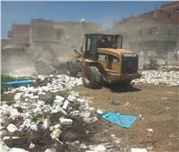 تحرير 23 محضر بناء بدون ترخيص بمركز ابوقرقاص بالمنيا