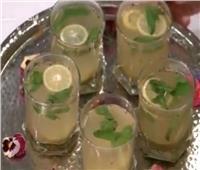على طريقة سالي فؤاد «مشروب الشاي الأخضر الحارق» لإنقاص الوزن.. فيديو