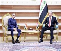 السفير المصري في بغداد يلتقي وزير الداخلية العراقي
