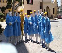 خروج 7 حالات جديدة من «عزل سموحة» لتعافيهم من كورونا