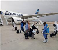 وصول رحلة استثنائية تقل 306 من العالقين بالسعودية لمطار مرسى علم