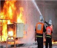 حريق بمخزن تابع لإدارة الحماية المدنية بالجيزة