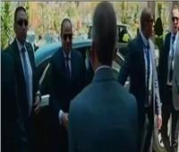 شاهد  لحظة وصول الرئيس السيسي لافتتاح مشروع «بشاير الخير 3» بالإسكندرية