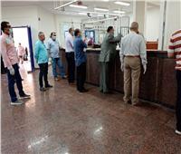 رئيس جهاز مدينة بدر يتفقد سير العمل بالمركز التكنولوجي لخدمة المواطنين