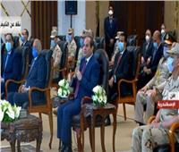 فيديو| الرئيس السيسي يستعرض محاور التنمية بالإسكندرية