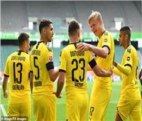 فيديو  دورتموند يحقق الفوز الثاني على التوالي عقب عودة الدوري الألماني