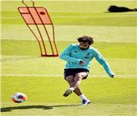 محمد صلاح ينشر صورا جديدة من تدريبات ليفربول