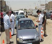 المرور تواصل حملاتها على الطرق وتضبط 3433 مخالفة مرورية متنوعة