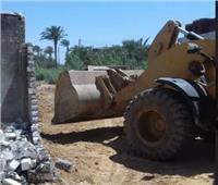إزالة 26 حالة تعد على الأراضي الزراعية في ثاني أيام العيد