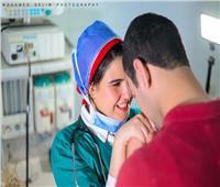 حكايات|غرامفيالعزل...قصةحبداخلمستشفىالمنصورة