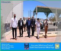 محافظ جنوب سيناء يوجه بشراء الكمامات وتوزيعها مجانا بأماكن تقديم الخدمات للجمهور