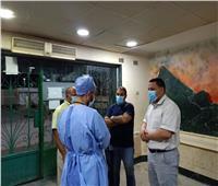 تجهيز مبنى لعزل حالات كورونا بـ«المستشفى الأميري» بالسويس