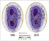 لماذا ينحرف القطب الشمالي المغناطيسي للأرض بسرعة كبيرة؟