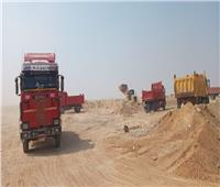 استكمال أعمال المرافق بمدينة بني سويف الجديدة