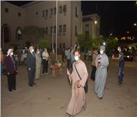 انتهاء فترة الحجر الصحي بجامعة القاهرة لـ 16 فوجا عائدين من الخارج
