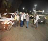 محافظ أسيوط يؤكد على استمرار تطهير وتعقيم الشوارع للوقاية من فيروس كورونا