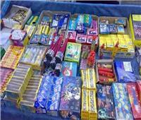 ضبط 3 أشخاص وبحوزتهم كمية من الألعاب النارية بقصد الإتجار
