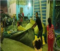 إغلاق مطعم مخالف لقرارات الحظر بالقاهرة