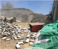 تحرير 101 محضر تمويني وإزالة 361 حالة تعدى على الأراضي الزراعية  بالمنوفية