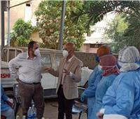 تعافي ٥ مصابين بكورونا بمستشفى العزل بالزقازيق