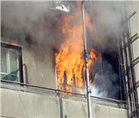 مصرع 4 أطفال وجدتهم في حريق شقة سكنية بالدقي