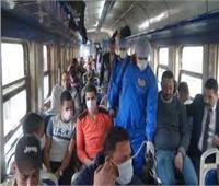 «السكة الحديد» تطرح كمامات للبيع بمكاتب صرف التذاكر