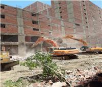 محافظة القاهرة تكشف حجم المعدات المستخدمة لإزالة العقارات خلف المحكمة الدستورية